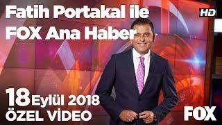 Ebru Gündeş New York'a gitti!  18 Eylül 2018 Fatih Portakal ile FOX Ana Haber