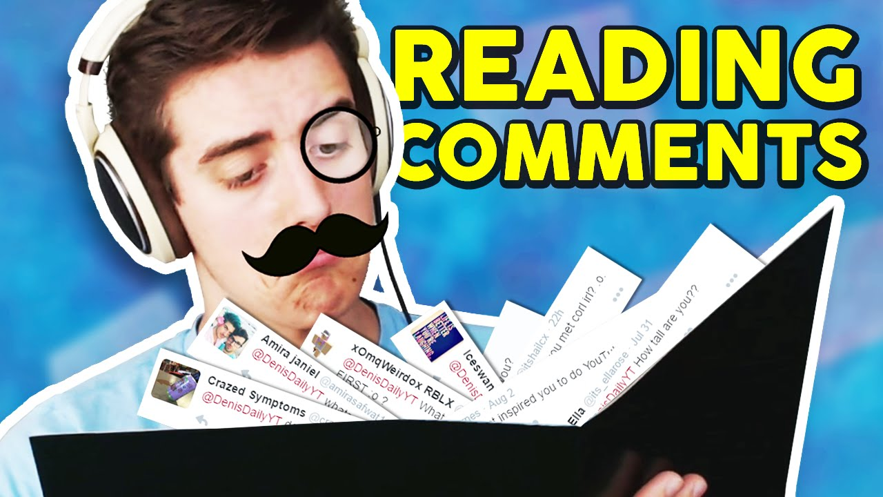 DENISDAILY Q&A!! | Reading Your Comments - YouTube