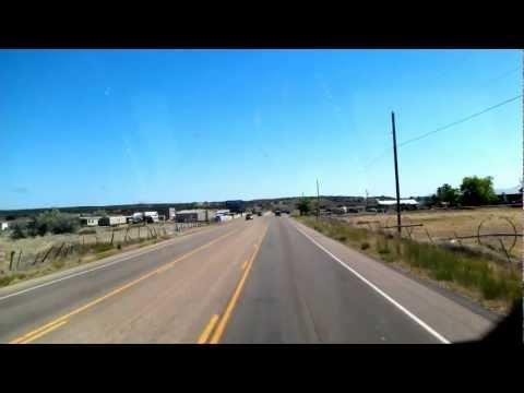 US 89 North through Kanab, Utah