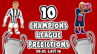 Champions League knockout PREDICTIONS!