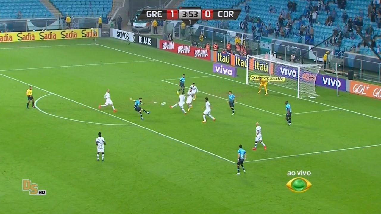 Gols Grêmio 3 x 1 Corinthians - Brasileirão 2015 - Band HD ...