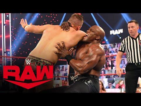 The Miz vs. Bobby Lashley – WWE Championship Lumberjack Match: Raw, Mar. 1, 2021