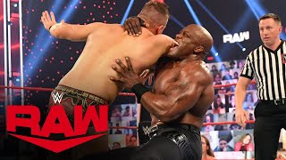 The Miz vs. Bobby Lashley - WWE Championship Lumberjack Match: Raw, Mar. 1, 2021