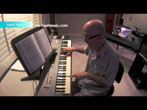 Jazz Rock Piano Chops Lesson by Mark Harrison