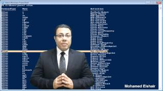 00-PowerShell (Introduction) By Eng-Mohamed Elshair | Arabic