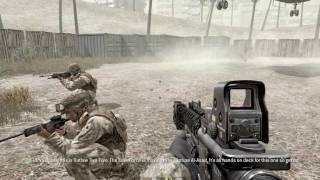 """Call of Duty 4: Modern Warfare 1"", full walkthrough on Veteran, Act 1: Mission 6 - War Pig"