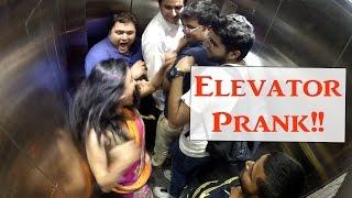INDIAN WARRIOR PRINCESS Elevator Prank | VibesAndSmiles