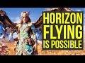 Horizon Zero Dawn FLYING IS POSSIBLE Horizon Zero Dawn Fly Horizon Zero Dawn How To Fly mp3