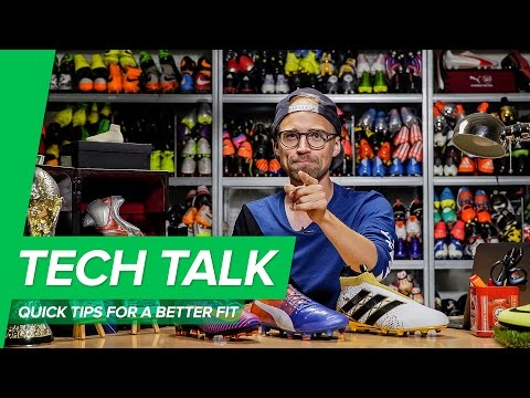 How to get the best fit in your football boots | Hot water trick & no blisters - Unisport Tech Talk