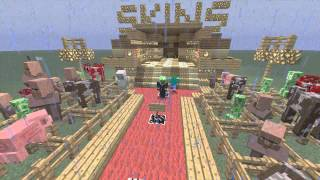 Top 10 Minecraft Xbox 360 Skins - Skin Pack 1 [BLOOPERS]