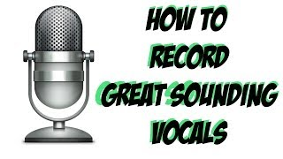 Adobe Audition CS6 Tutorial - How To Record Great Sounding Vocals