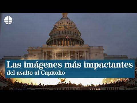 📹 El asalto al Congreso de EE.UU., en imágenes
