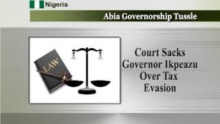 Federal High Court Sacks Abia Governor.