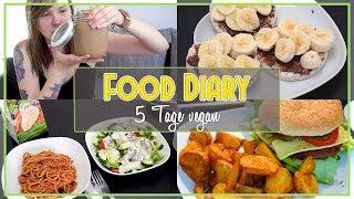 🔥 DAS esse ich in 5 TAGEN WIRKLICH! - proteinreiches, veganes FOOD DIARY + ein bisschen Sport 🌱