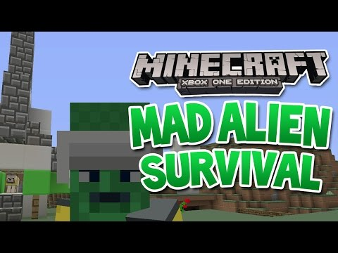 Minecraft Xbox - Mad Alien Survival - #9 First Dog in space