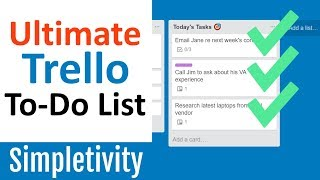 Ultimate Trello To-Do List (You