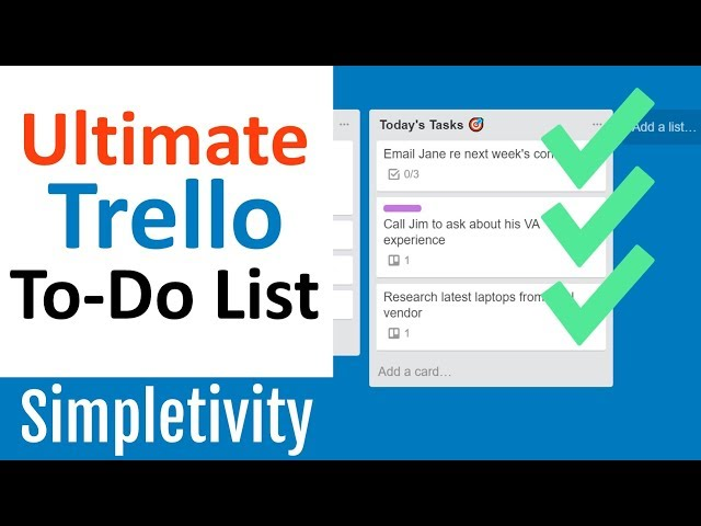 7 Inspiring Templates From The Trello Community From Productivity