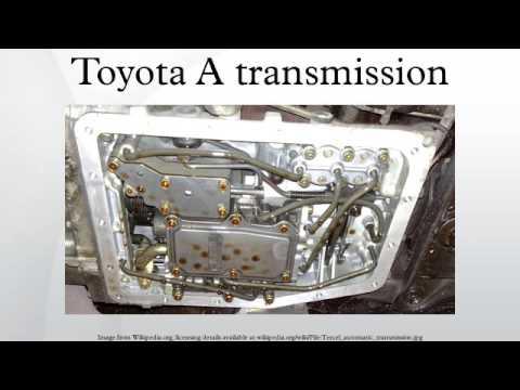 Toyota A transmission