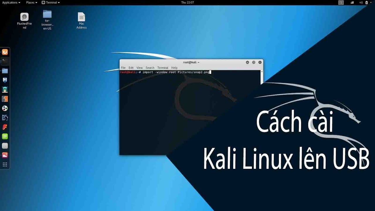 CÁCH CÀI KALI LINUX LÊN USB | HOW TO MAKE KALI LINUX BOOTABLE USB