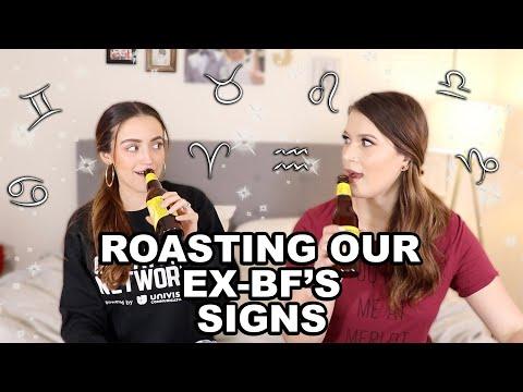 ROASTING OUR EX BOYFRIEND'S ZODIAC SIGNS (W/ KATHLEENLIGHTS) thumbnail