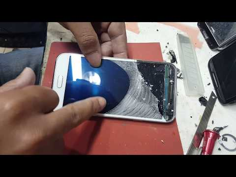 Trocando vidro Samsung E5