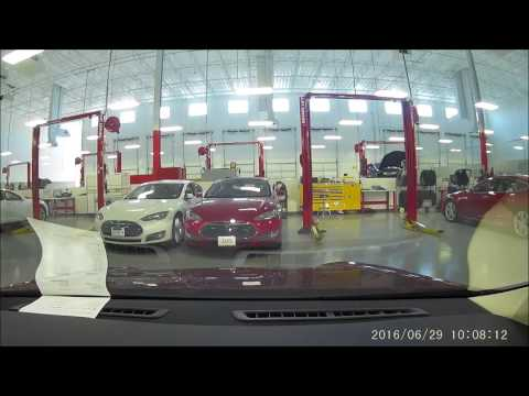 Inside a Tesla Service Center (Houston, Texas)