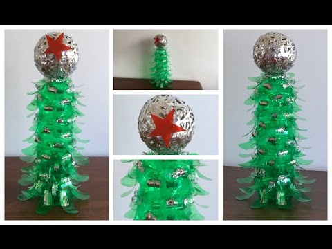Diy Christmas Tree With Plastic Bottles