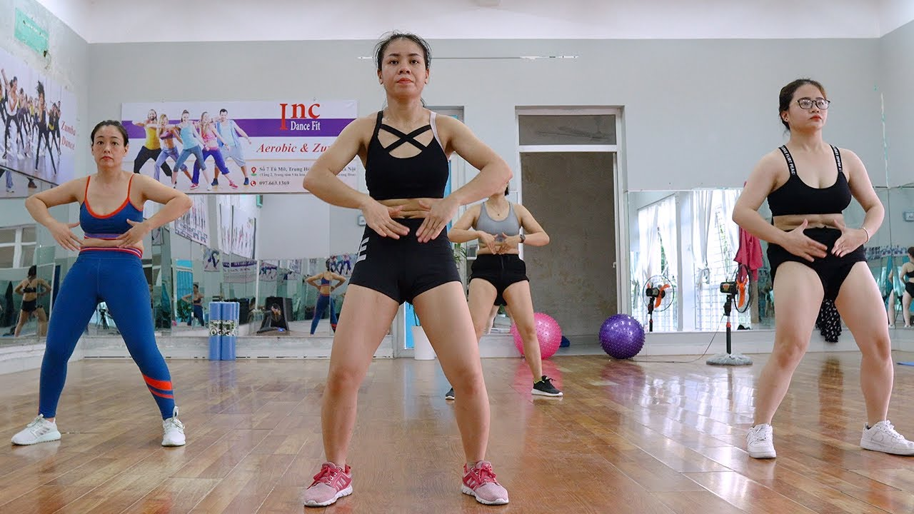 40 Mins Aerobic Dance At Home Reduce Abdominal Fat | Amg Fitness