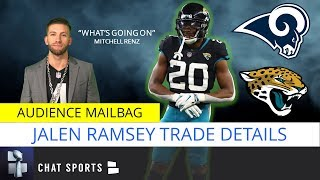 Jalen Ramsey Trade Questions, Impact On NFC West, Rams & Jaguars Trade Winners | NFL Trade Rumors