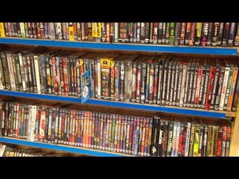 WWE DVDs at FYE