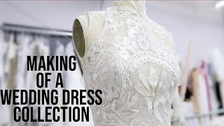 THE MAKING OF A WEDDING DRESS COLLECTION!!! Hayley Paige Spring 2019