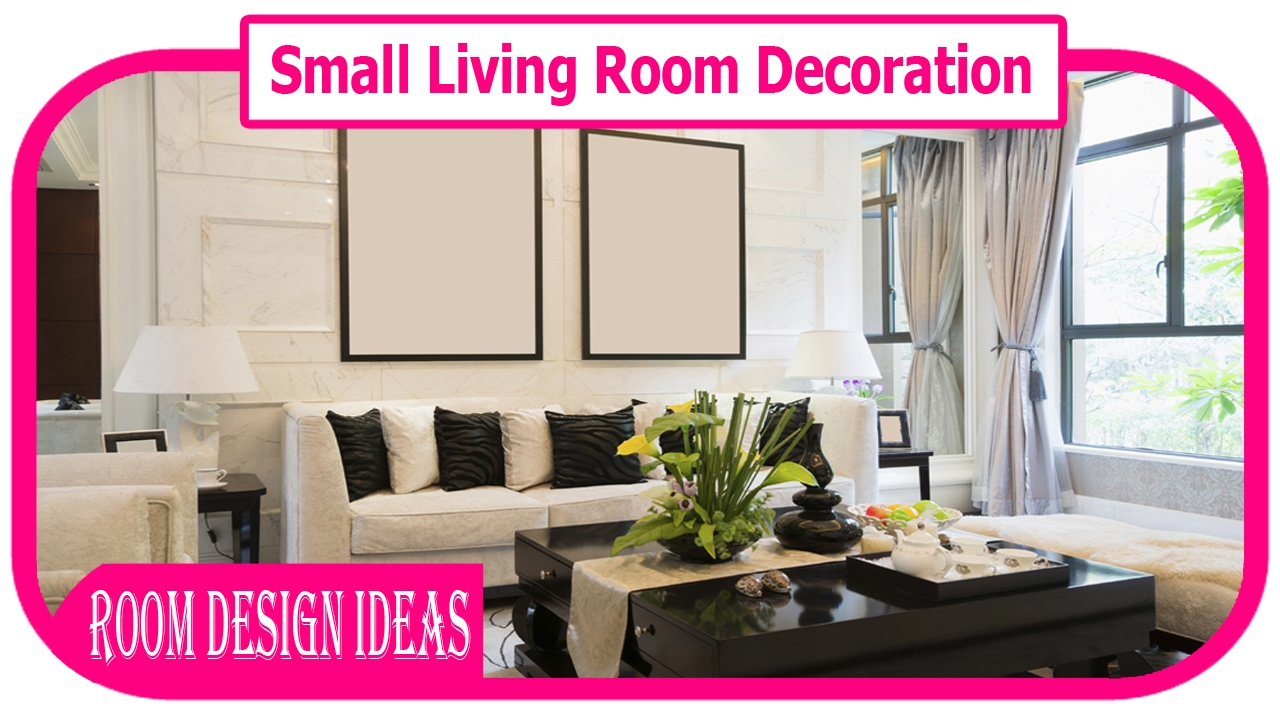 small living room decoration - how to decorate a living room on a