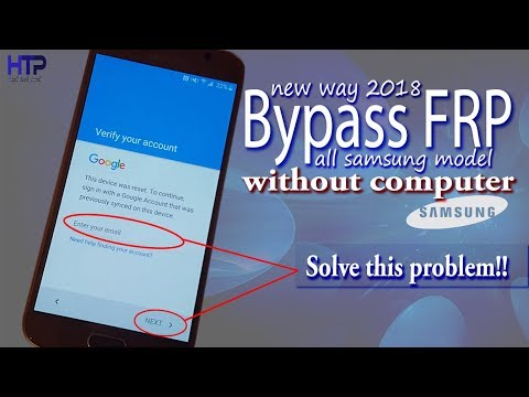 How to bypass FRP on Samsung without PC | Google Account Bypass