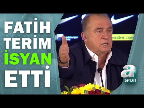 Galatasaray 1 - 1 Kayserispor Fatih Terim Maç Sonu Basın Toplantısı Düzenledi / A Spor