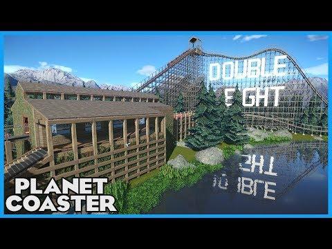 DOUBLE EIGHT! Coaster Spotlight 303 #PlanetCoaster