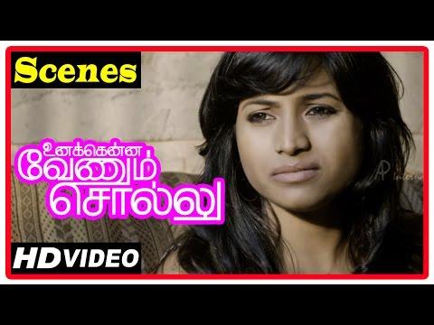 Unakkenna Venum Sollu Tamil Movie |  Scenes | Jaqlene Prakash Tells About Her Past To Mime Gopi