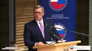 [RUS] Rosja dziś i jutro. Wykład Michaiła Kasjanowa, byłego premiera Rosji [w j. rosyjskim]