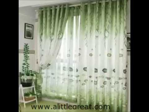 55 ideas / designs for beautiful curtain - 55 idées / dessins pour rideau belle