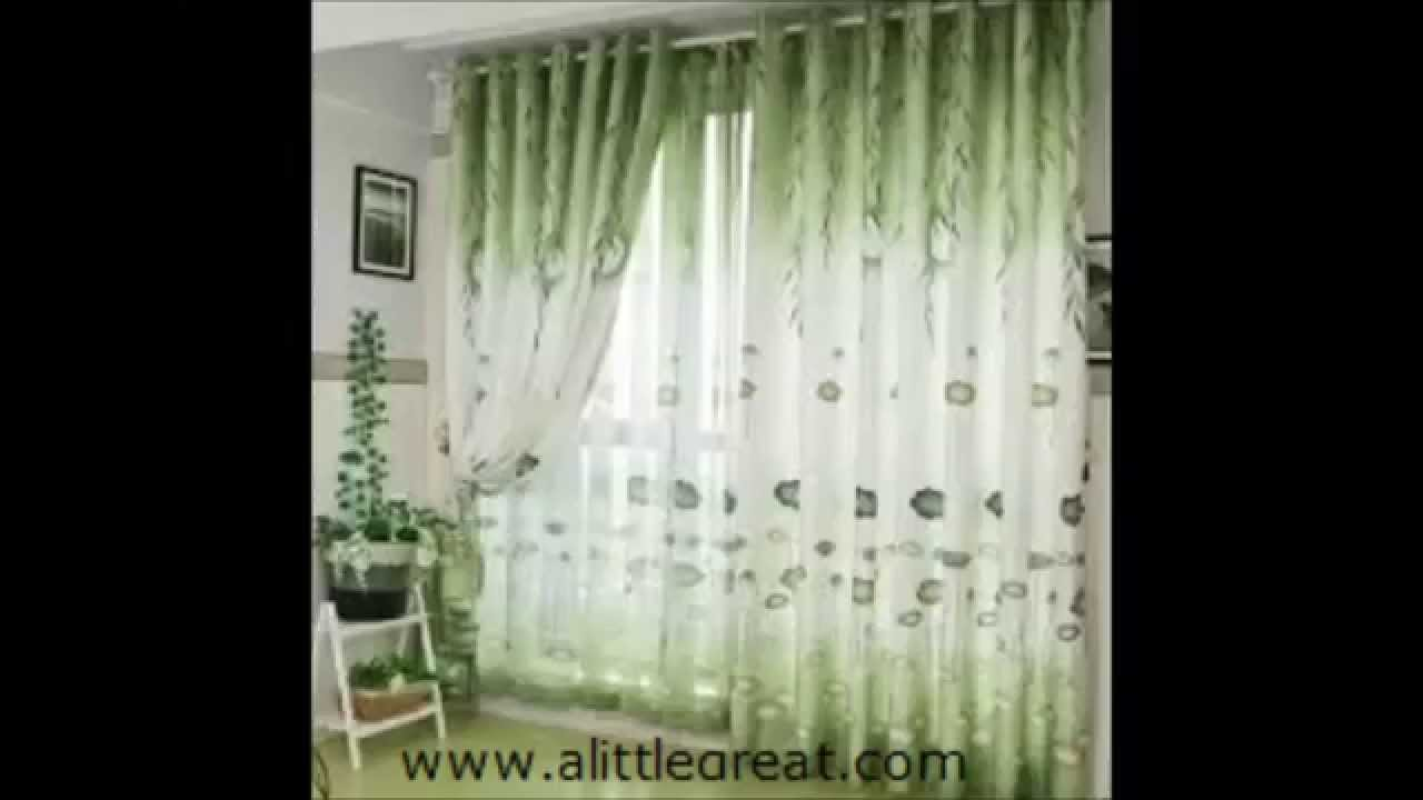 55 ideas / designs for beautiful curtain - 55 idées / dessins pour ...