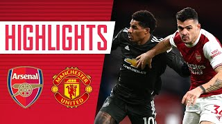 HIGHLIGHTS | Arsenal vs Manchester United (0-0) | Premier League