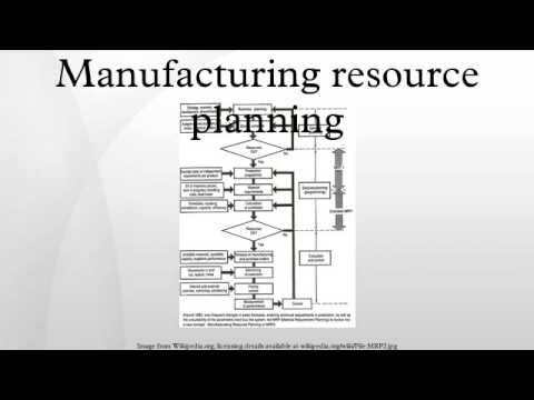 Manufacturing resource planning - YouTube