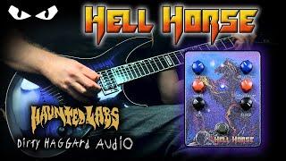 Haunted Labs & Dirty Haggard Audio - HELL HORSE Fuzz Delay - 𝗚𝗨𝗜𝗧𝗔𝗥 𝗗𝗲𝗺𝗼