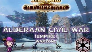 ★ SWTOR ★ - PvP - Warzone - Alderaan The Civil War - Lowbie Sith Sorceror