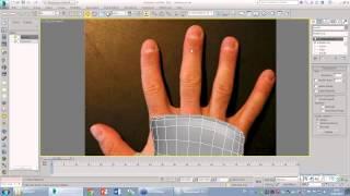 Делаем модель руки в 3d max