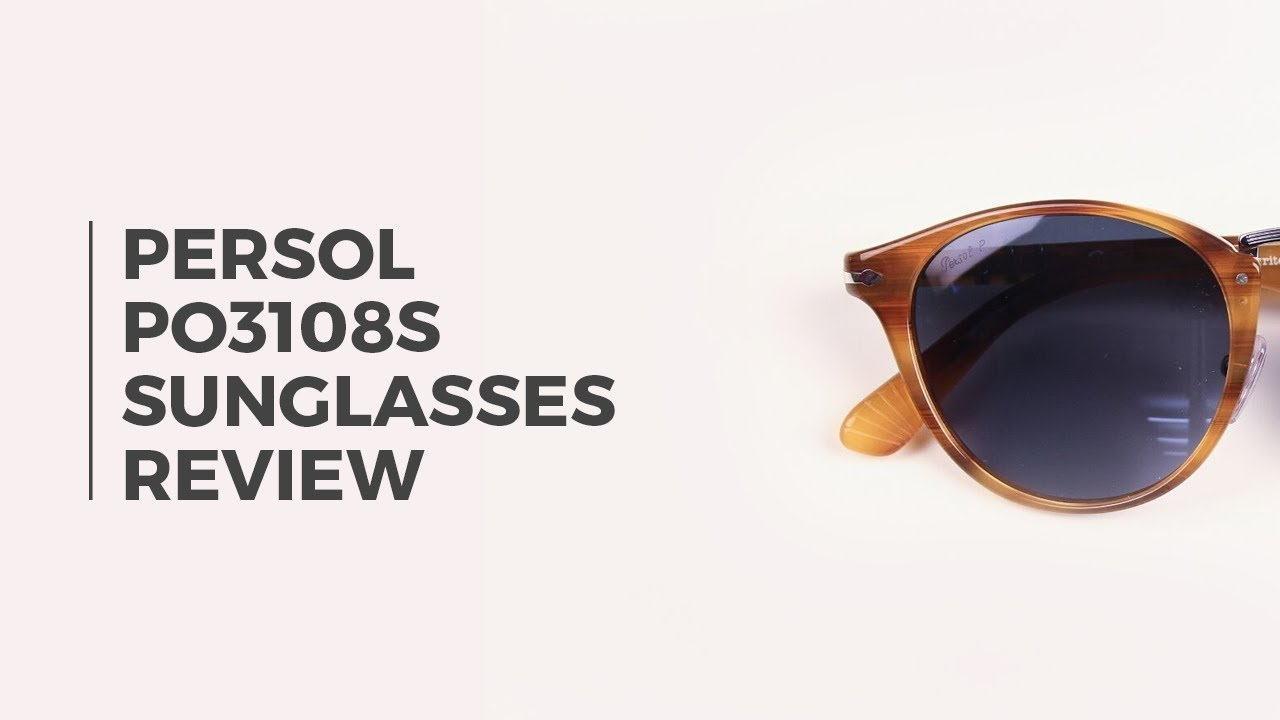 8c7af7feb49 Persol PO3108S Polarized Sunglasses Review