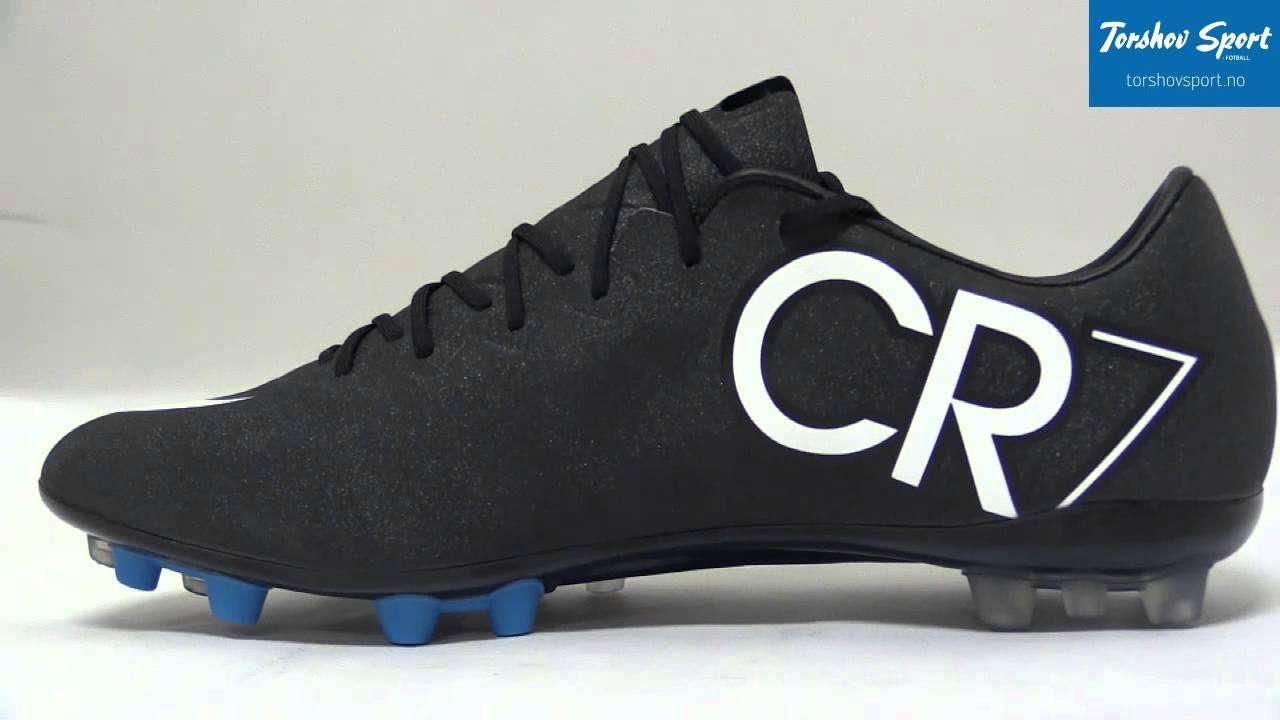 4edd5b22 Nike Mercurial Vapor X CR7 AG Fotballsko - YouTube