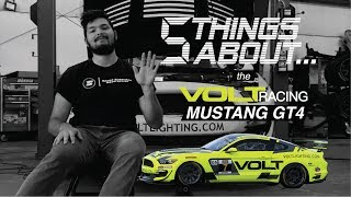 Five Things About the Volt Racing Mustang GT4