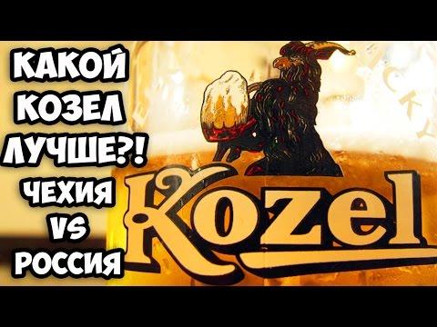 Обзор сравнение пива Козел темное из Чехии и из России || Обзор брянского пива Свень | Пивные обзоры