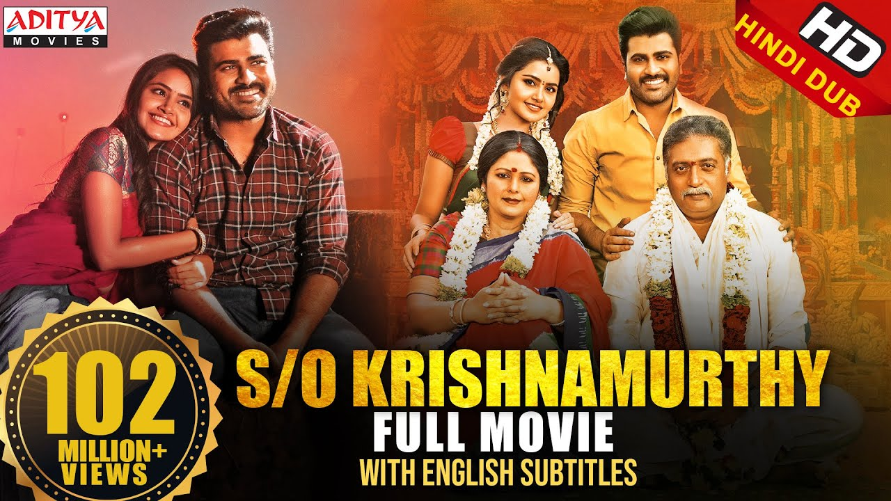S/O Krishnamurthy (Sathamanam Bhavati) Hindi Dubbed Full Movie | Sharwanand, Anupama |Satish Vegesna