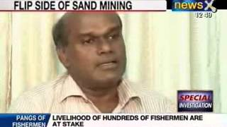 NewsX: Flora and Fauna damaged due to Sand Mining